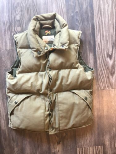 Mister Freedom Sateen Down Vest Made In Usa