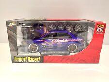 New Listingjada Toys Import Racer Mitsubishi Lancer Evolution Vi Greddy Livery 124 Scale