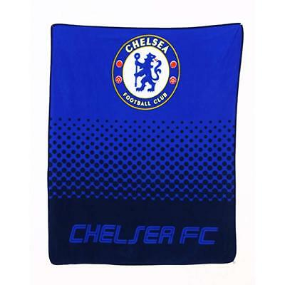 EXTRA LARGE Everton Super Soft Fleece Blanket Throw Boys Fans Football Blue