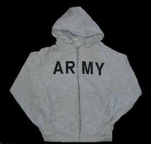 Pt L Us Jogging Sportswear Hoody Army Large Gr Kapuzen Jacke Sweatshirt 47g7PO