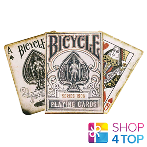ELLUSIONIST-BICYCLE-1900-SERIES-BLUE-MARKED-PLAYING-CARDS-DECK-MAGIC-TRICKS-NEW