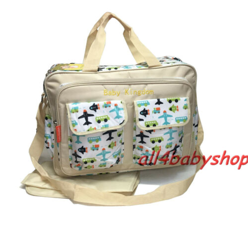 Large 3 Designs Laminated Waterproof Baby Nappy Diaper Hospital Changing Bag 399