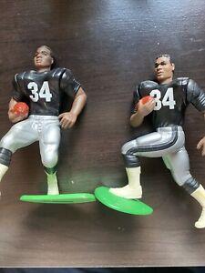 LOT 1990&92 Bo Jackson Starting Lineup Figure Mint Rare Oakland Raiders NFL SLU