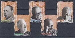 Portugal 3050 - 54 Famous People From Culture And History (MNH)
