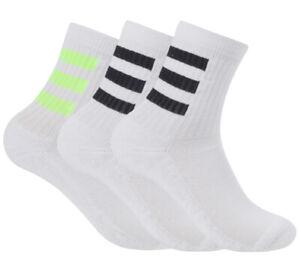 adidas-Cushion-Crew-Socks-3PP-Tennis-Running-Badminton-Soccer-Yoga-NWT-GE1376