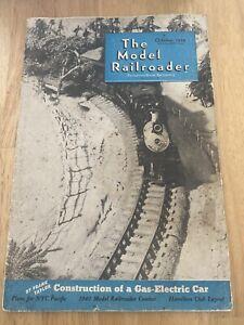Old-Vintage-The-Model-Railroader-Magazine-October-1939-Vol-6-No-10-Plans-Train