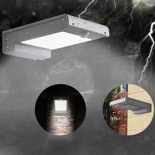 Waterproof 2835 49 LED Solar Power Sensor Light Outdoor Garden Lamp IP65
