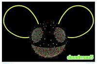 Deadmau5 Logo - Blacklight Poster - 24x36 Flocked 1958