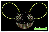 Deadmau5 Logo - Blacklight Poster - 24x36 Flocked 1958