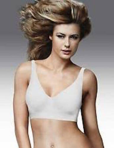 Small #2487 White Maidenform-bra-9431-BODY-EXTRA-COVERAGE-UNLINED-WIREFREE
