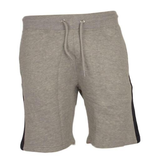 NUOVA linea uomo sportivo tasche con zip contrasto fitness palestra in Pile Pantaloni Sportivi Pantaloni Pantaloncini