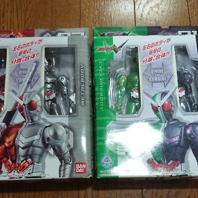 Action Figures Used Masked Kamen Rider Double Wfc Heat Metal Wfc Cyclone Joker From Japan F/s Strengthening Sinews And Bones Toys & Hobbies