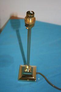 Bureau-Lampe-de-table-Moderne-ENDON-Small-Electric-cordon-en-laiton-poli-Aucune-Ombre