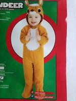 Rubies Child Infant Boy 6-12 Months Lil' Reindeer Halloween Costume