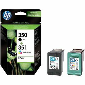 Genuine-HP-350-351-CMYK-Ink-Cartridge-SD412EE-for-OfficeJet-J5785-J5790-Sealed
