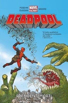 Comics DEADPOOL - VOLUME N. 1 PRESIDENTI MORTI - panini nuovo ITA