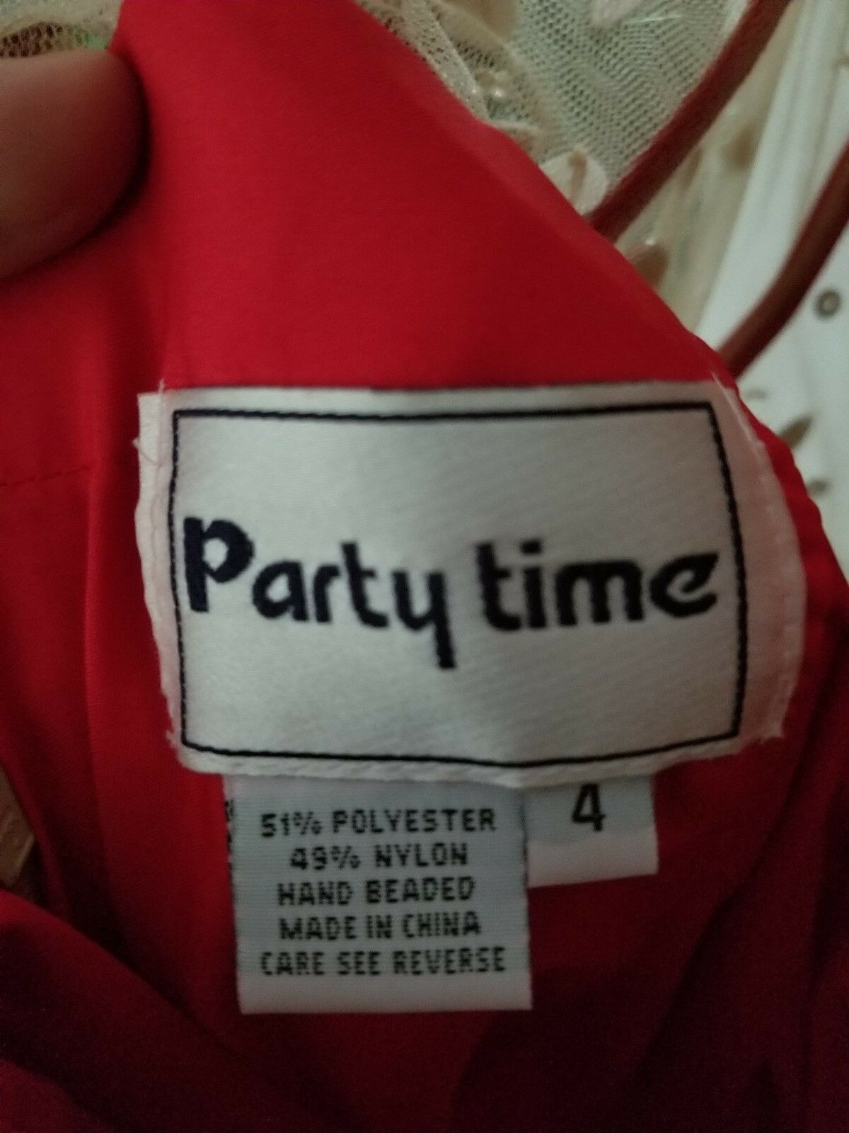 Party Party Party Time Red Ball Gown be4b6d