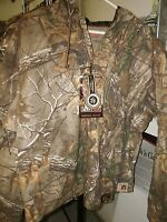 W/tags Redhead Realtree Xtra Sillent Hide Insulated Hooded Jacket Sz Large