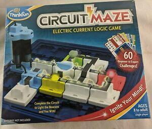 Amazon.com: Think Fun ThinkFun – spellen – Circuit Maze ...