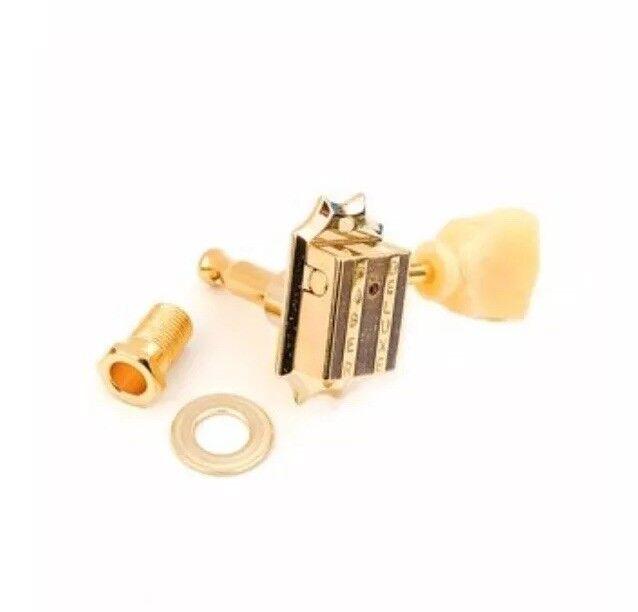 Fkt33bb-gg FABER Premium Kluson Style sintonizzatore 3+3 BOLT bushing oro Gloss