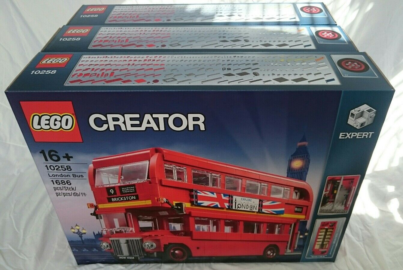 NEW Lego 10258 London Bus FAST UPS SHIPPING NOW