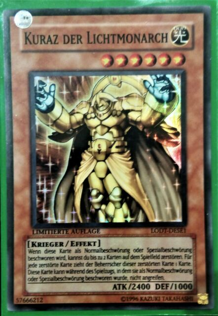 Super Rare LODT x1 NM Kuraz the Light Monarch GERMAN