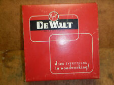 Dewalt De Walt 8 Sanding Disk For Radial Arm Saws No 7470 In Box