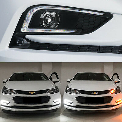 Daytime Running Light DRL LED Day Lights For Chevrolet All New Cruze 2017+