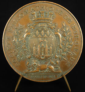 Medal-Exhibition-General-1882-Bordeaux-Philomathic-Member-of-Jury-Medal