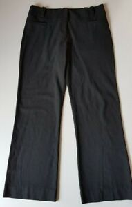 CUE-Charcoal-Grey-Stretch-Pants-Size-10