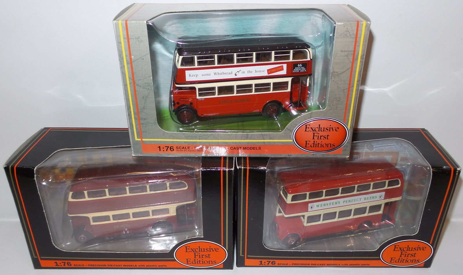 Autobuses  Regent V, AEC STL Clase Bus, RTL D Cubierta buses. 19706, 11109, 27809 (DT)