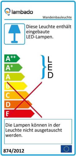 LED Wand-Einbaustrahler für UP-Dose Treppenbeleuchtung Treppenlicht Stufenlicht