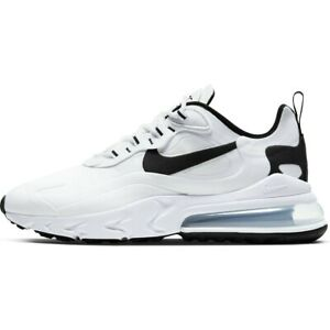 Nike-Air-Max-270-React-White-Black-CT1264-102-Running-Shoes-Men-039-s-Multi-Size-NEW