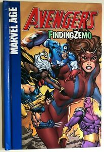 AVENGERS-Finding-Zemo-2008-Marvel-Comics-Spotlight-HC-graphic-novel-VG