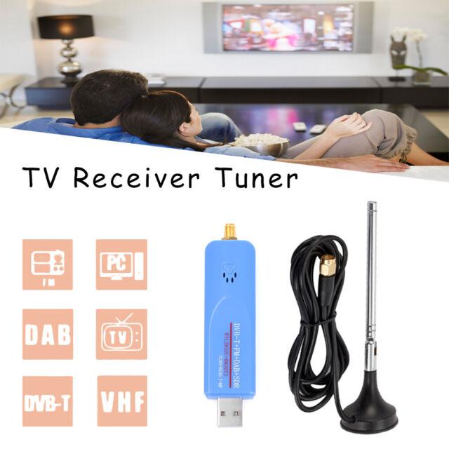 Video Dongle R820T2 Digital DVB-T RTL2832U FM TV Stick Receiver Tuner RTL-SDR z
