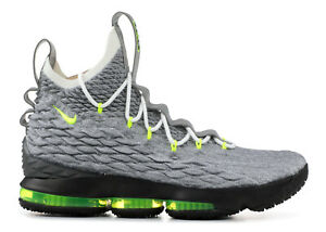 3f77123c4a Nike LeBron Watch 15 XV Air Max 95 NEON Cool Grey Volt Wolf OG ...