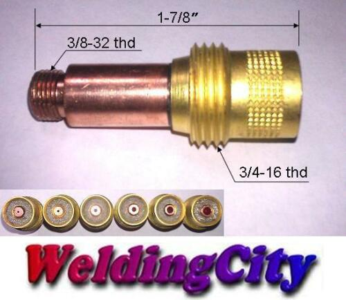 "2-pk TIG Welding Gas Lens Collet Body 45V29 .020/"" Torch 17//18//26 US Seller Fast"