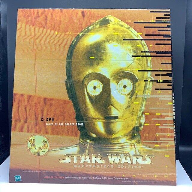 Star Wars action figure hasbro C-3PO tales oroen droid nib box limited edition