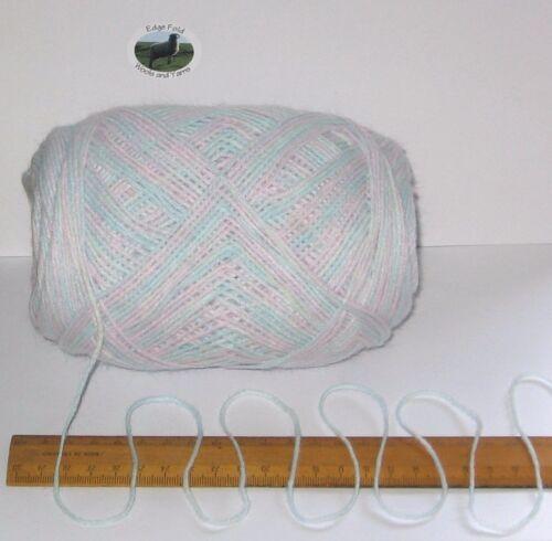 100g balls Baby Pink Green Blue thin double knitting wool dk acrylic yarn soft