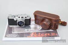 *Mint* Leica III c D.R.P Ernst Leitz Wetzlar Camera w/ Summitar 50mm F/2 F2 Lens