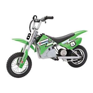 Razor-MX400-Dirt-Rocket-24V-Electric-Toy-Motocross-Motorcycle-Dirt-Bike-Green