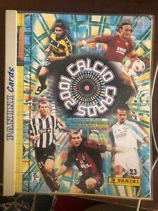 Edizioni Panini - CALCIO CARDS 2001 - SQUADRE COMPLETE