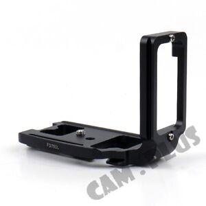 Details about Metal Hand Grip Vertical L Plate Bracket For Nikon D750 Camera