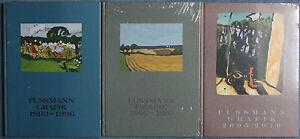 Klaus-Fussmann-drei-Werkverzeichnisse-zur-Grafik-neu-original-verpackt-selten