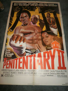 PENITENTIARY-II-1982-LEON-ISSAC-KENNEDY-ORIGINAL-ONE-SHEET-POSTER