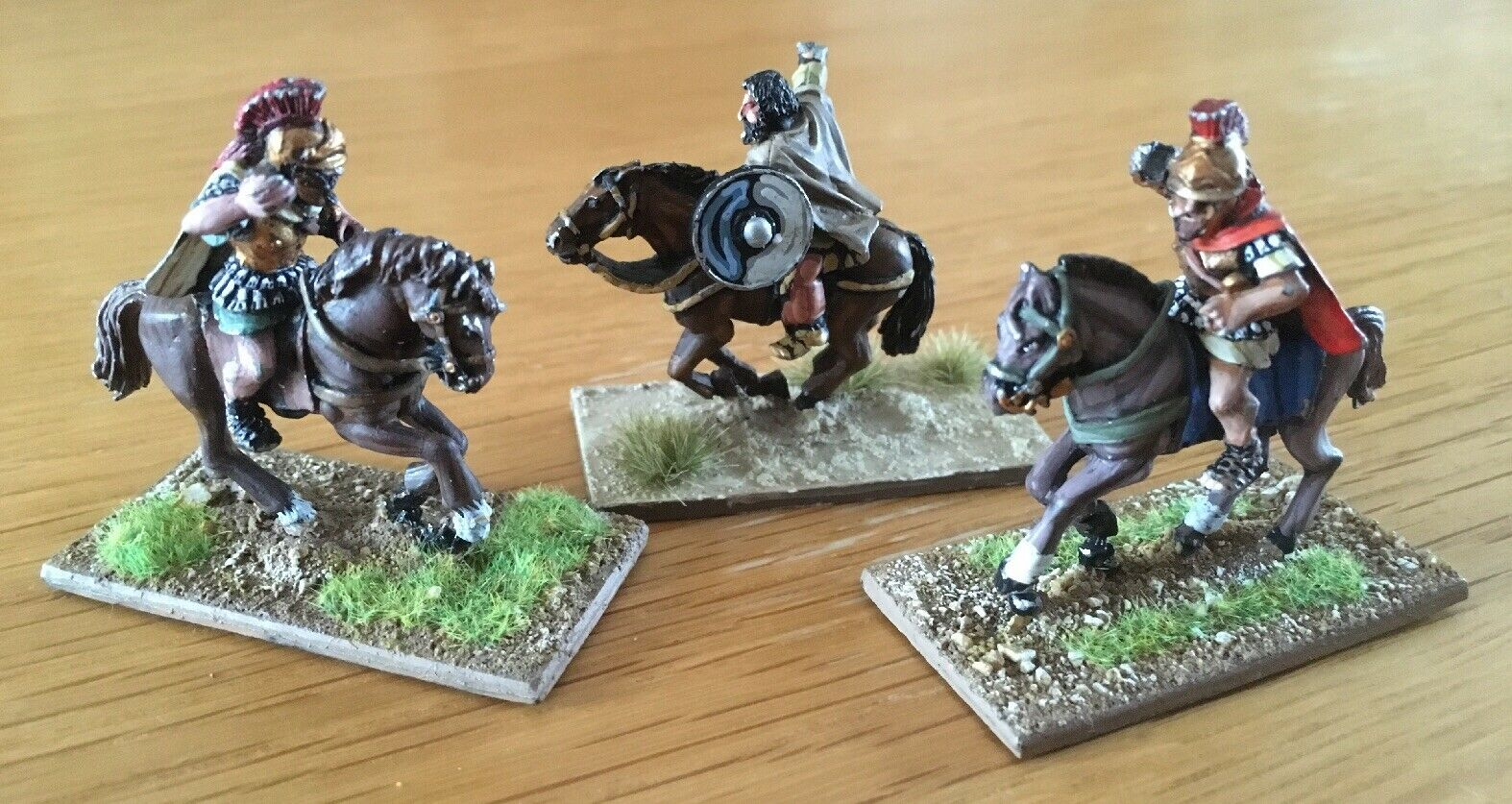 Citadel Knights Of Chaos Marauders Metal Miniatures Lot Of 3 Painted & Based