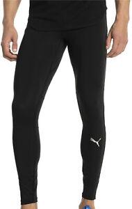 Puma-Ignite-Mens-Running-Tights-Black-Adjustable-Waist-Gym-Sports-Training-Tight
