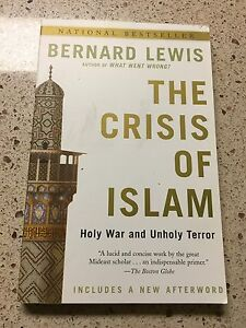 The-Crisis-of-Islam-Holy-War-and-Unholy-Terror-by-Bernard-Lewis-Book