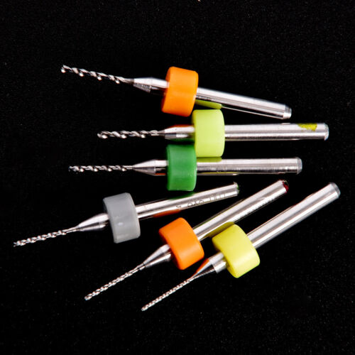 10Pcs PCB Print Circuit Board Carbide Micro Drill Bits Tool 0.3mm to 1.2 mmHGUK