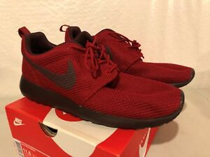 a50479fda6164 NIKE ROSHERUN SHOES SNEAKERS MENS SIZE 9.5 NEW GYM RED DEEP BURGUNDY ...